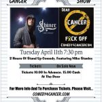 Detroit Comedian Mike Stanley to Perform at Comedy 4 Cancer Fundraiser