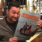 Bill Bushart with Detroiters Poster